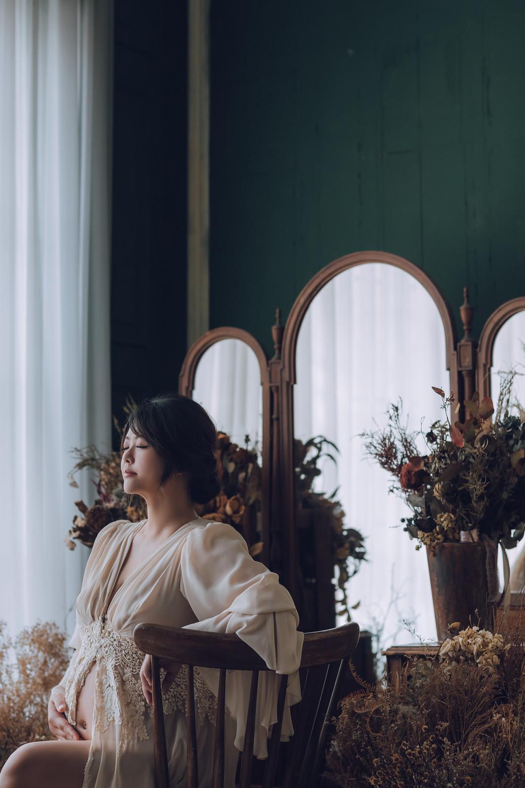 《孕婦寫真》Effie / 攝影師 Eric Yeh / 良大攝影工作室