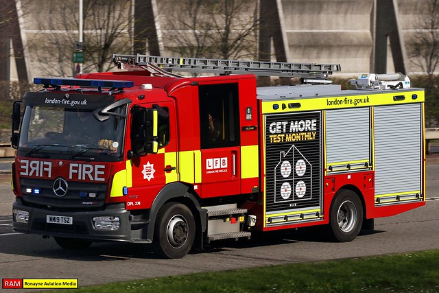 WM19 TSZ | Mercedes Benz Atego 1327 (Emergency One) | London Fire Brigade