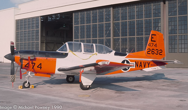 162632 - Beech T-34C Turbo Mentor, aircraft retired to ARARG in late 2011