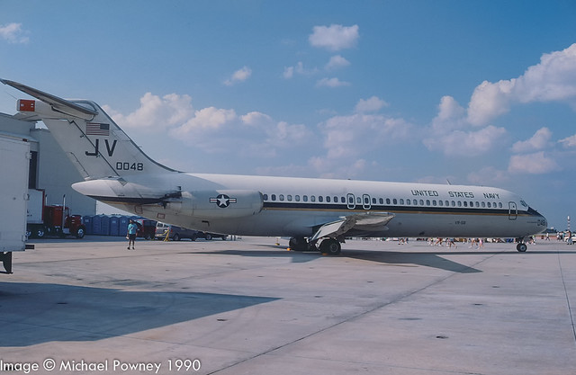 160048 - 1975 build Douglas C-9B Skytrain II, aircraft retired to ARARG in mid 2012