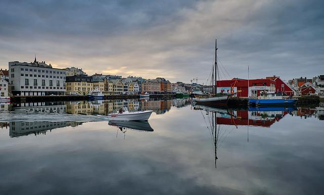 April morning, Haugesumd - Norway