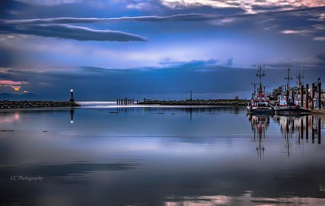 Twilight Blues - Steveston Harbour, BC