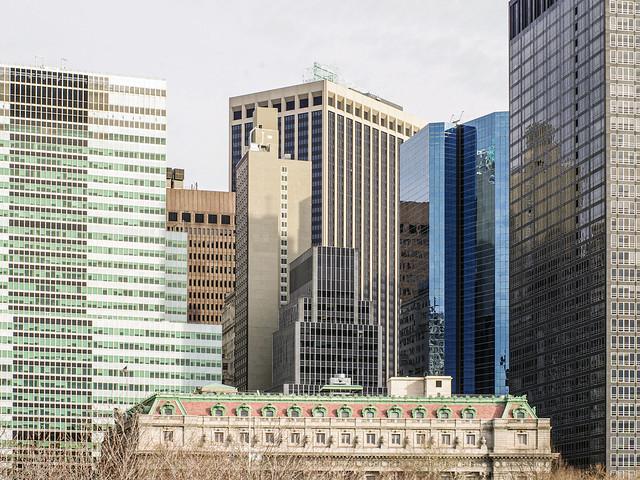 Downtown buildings