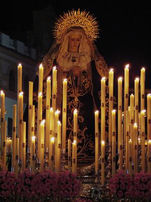 Virgen de los Dolores en su Soledad (Viernes Santo 2008)
