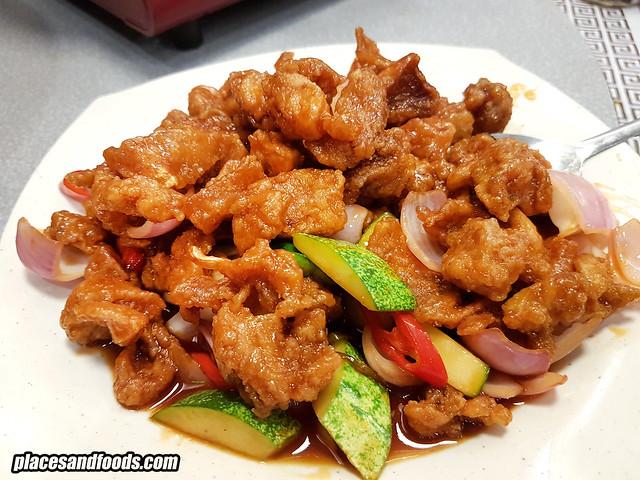 siong tong gai pork free ioi puchong sweet sour pork