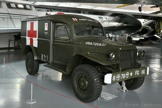 Dodge T214-WC54 ¾ Ton Ambulance