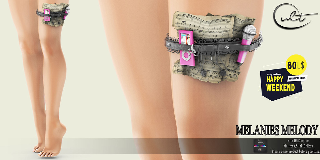 : CULT : Melanie Melody Garter with HUD