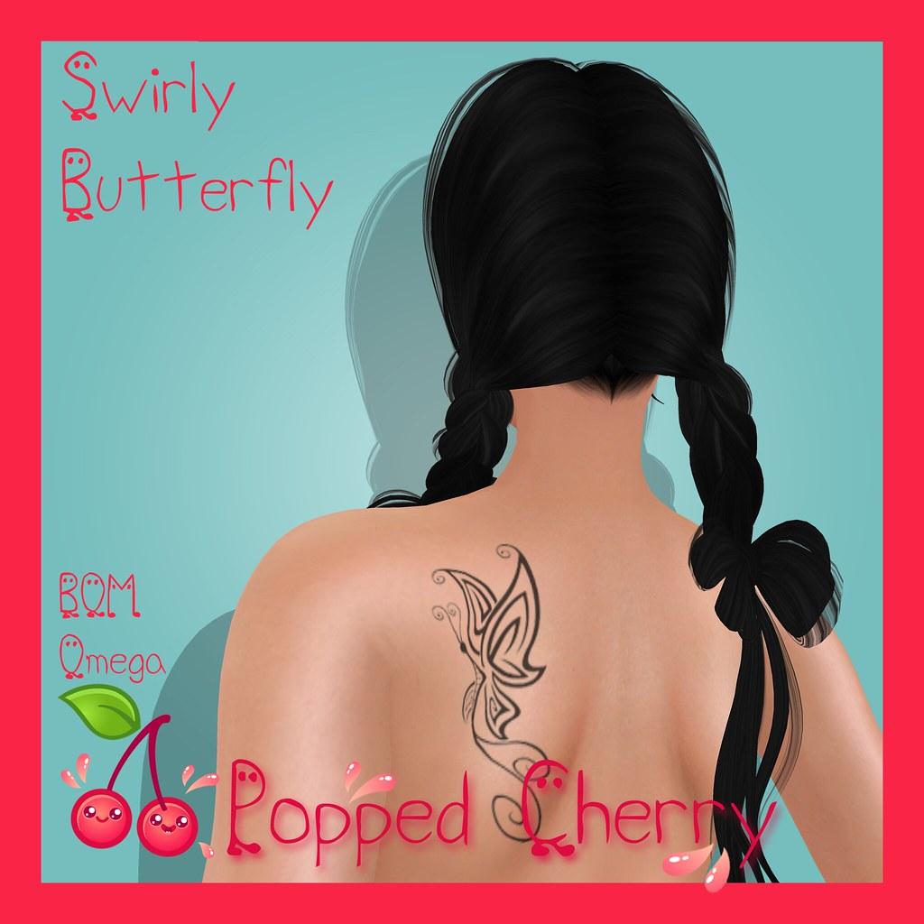 SwirlyButterflyAd