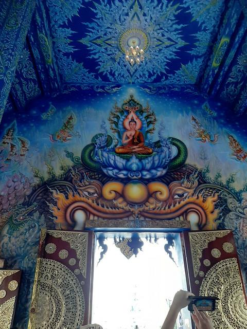Chiang Rai - White Temple - Wat prashing - Blue Temple