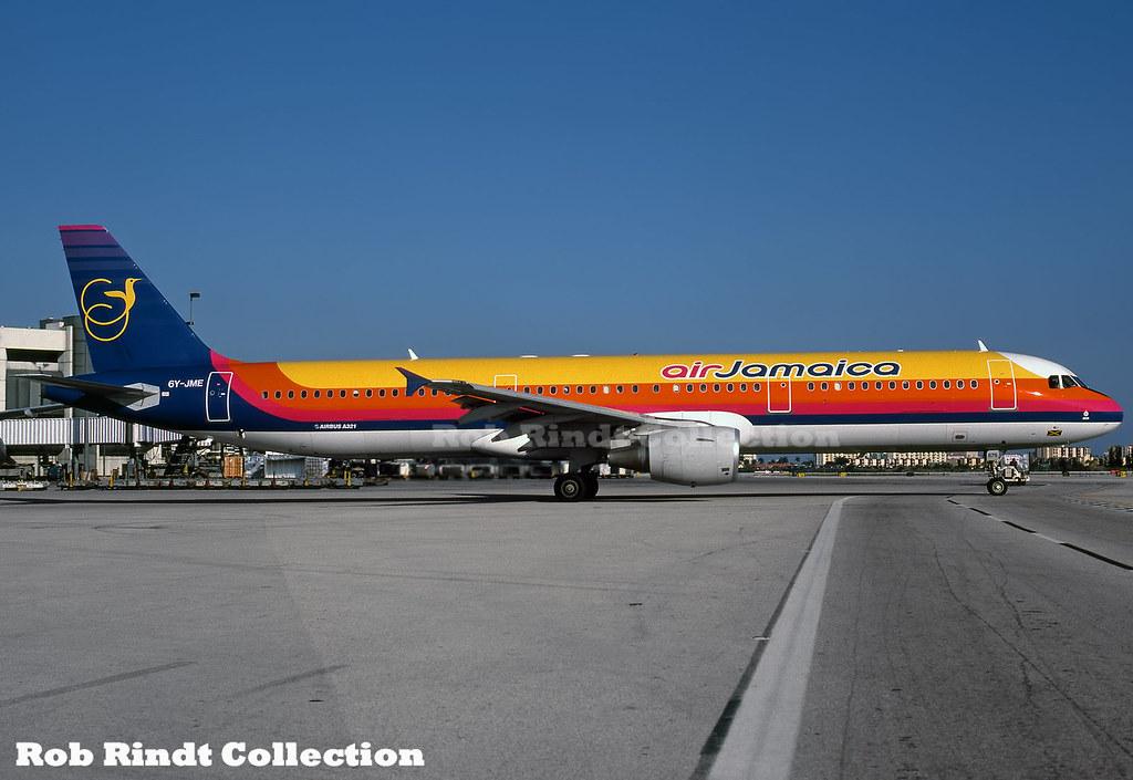 Air Jamaica A321-211 6Y-JME
