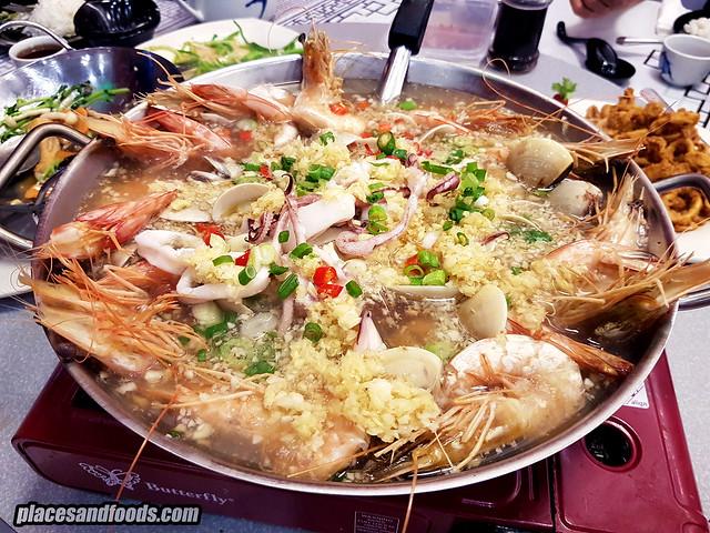 siong tong gai pork free ioi puchong seafood pot