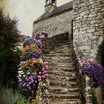 l'escalier fleuri