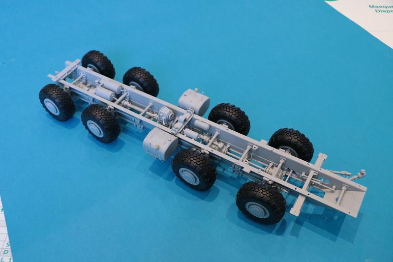 Vue d'ensemble du chassis  - Iskander