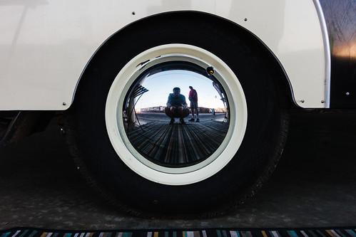 canons100 melbourne morning sunrise selfie hubcapreflection selfportrait compactcamera