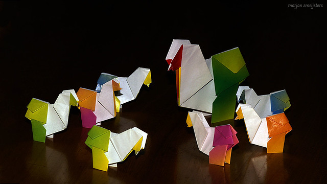 Origami Chick (Fred Rohm)