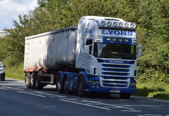 Lyons Transport B 4516 BM (Bulgaria) At Oswestry
