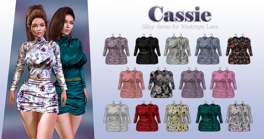 MAAI Cassie silky dress + GIVEAWAY