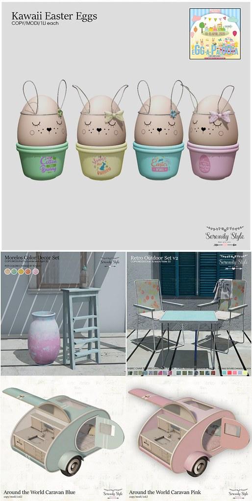 Serenity Style – Eggapalooza Hunt and Sale