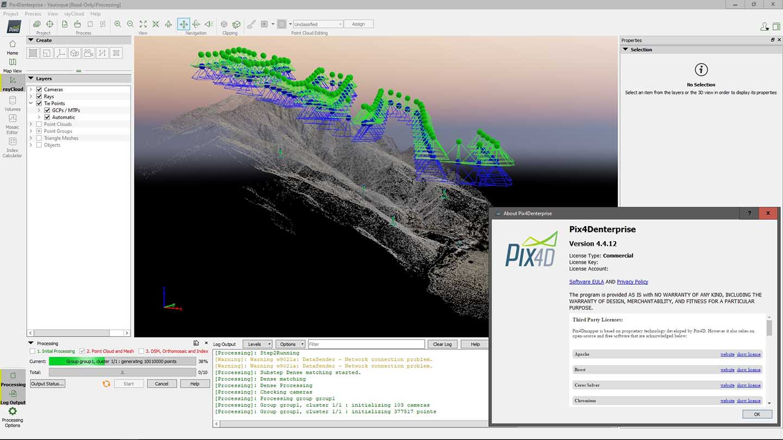 Working with Pix4Dmapper Enterprise 4.4.12 full license