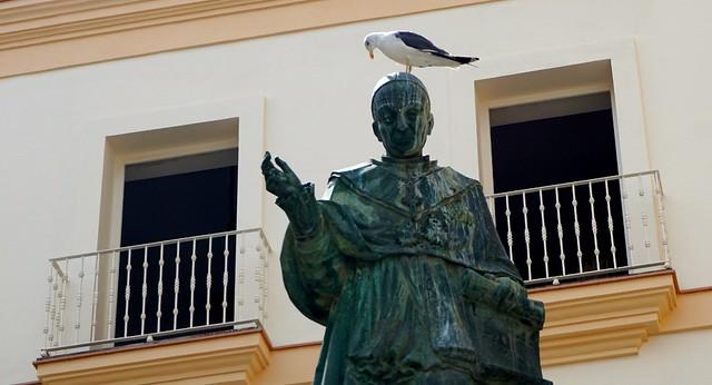 La estatua y la gaviota!!!