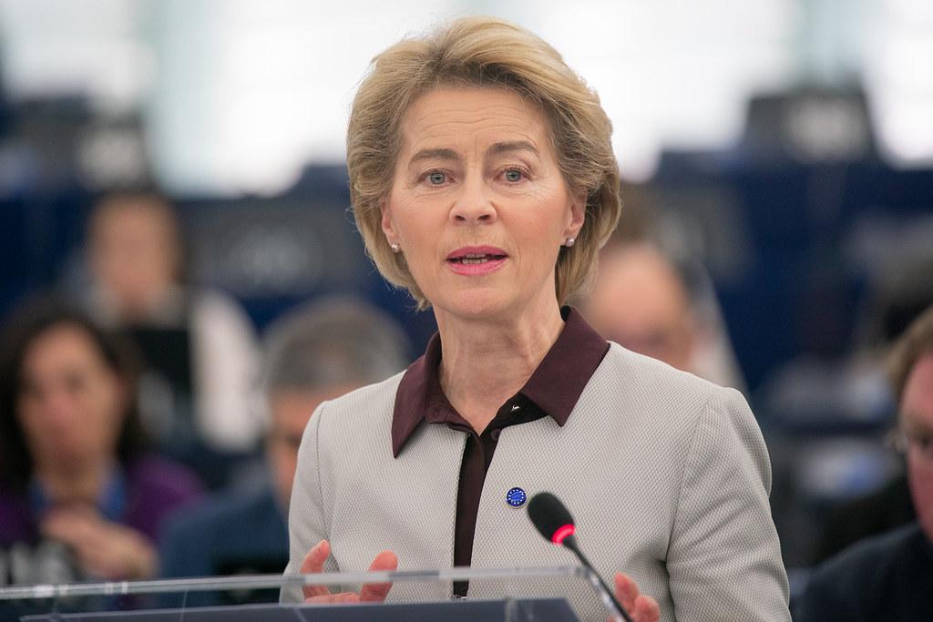 歐盟執委會主席范德賴恩(Ursulavon der Leyen)。圖片來源:歐洲議會 European Parliament(CC BY 2.0)