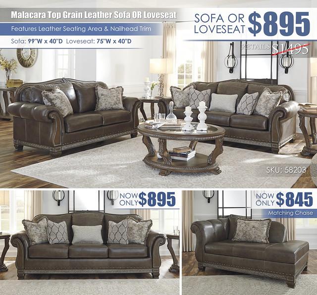 Malacara Sofa OR Loveseat Special_58203_Update
