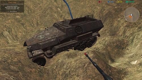 TMS (PC) - Sd.Kfz. 251 Hanomag Excavation