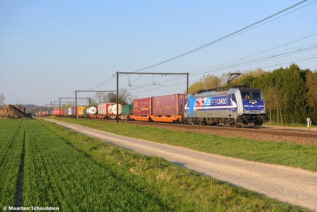 RTB Cargo 186 300-0 @ s'Herenelderen