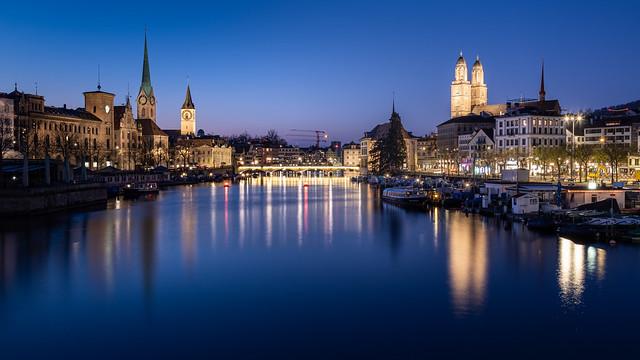Illuminated Zurich