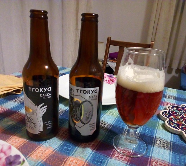 Dakka Pale Ale and Mars Red Ale from Trokya in Edirne by bryandkeith on flickr