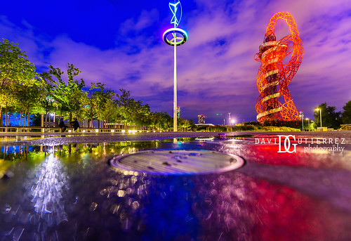 Vertical axis wind turbine - Olympic Park | by @davidgutierrez.co.uk