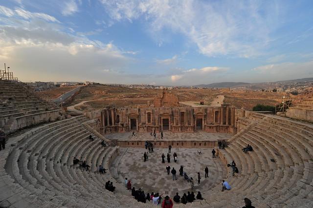 Southern Theatre, Jerash, Jordan, D700 January 2018 087