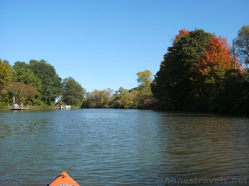 The Erie Canal near Kings Bend, Pittsford, New York