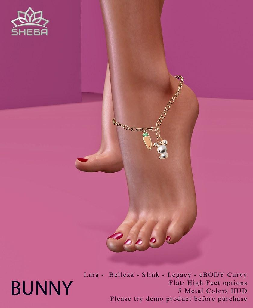 [Sheba] Bunny anklet
