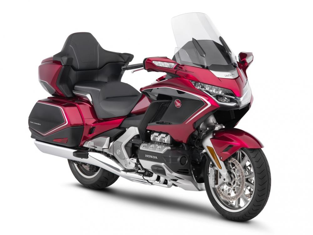 Honda Gold Wing With Suspension Hossack