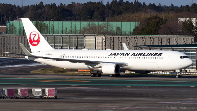 Boeing 767-346(ER)(WL) JA621J Japan Airlines