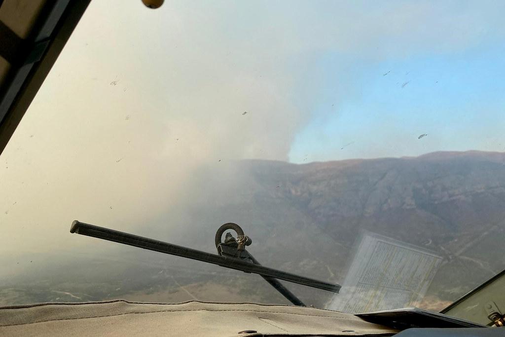Zračne snage djelovale na tri požara