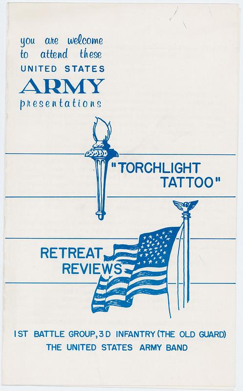 1962-Torchlight Tattoo program