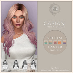 MINA Hair - Carian Easter Edition for Wanderlust Weekend, 50L