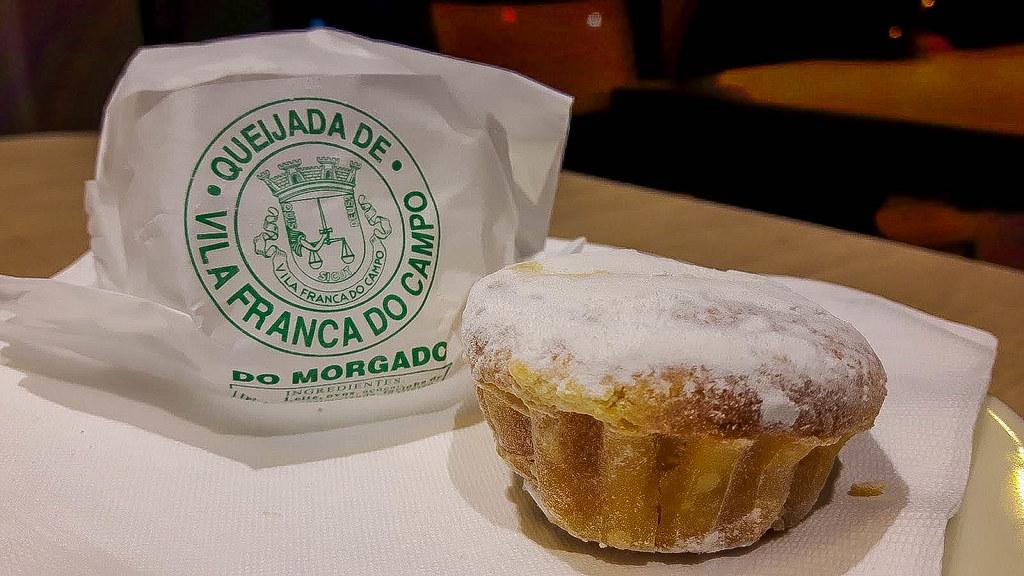 La queijada es un postre típico de São Miguel en Azores