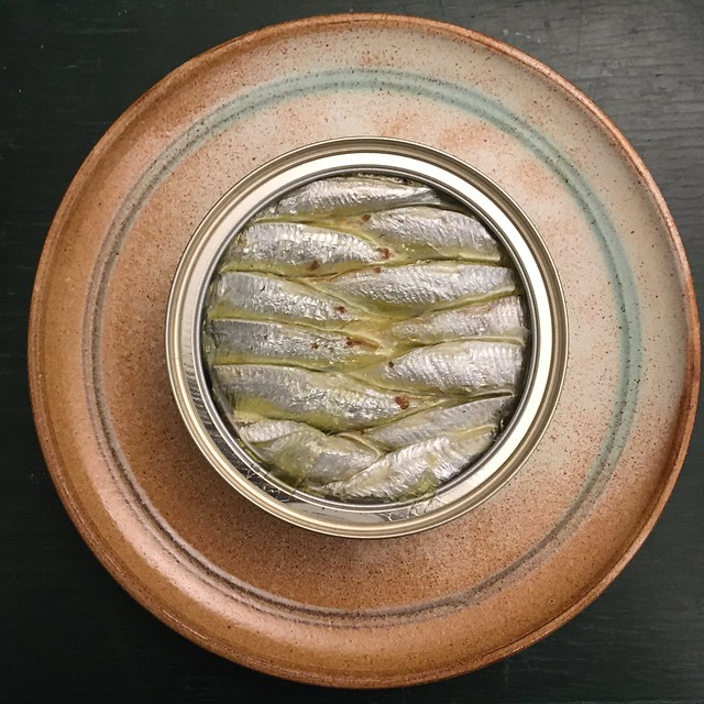 Sprottendose. A Tin of Sprats
