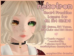 [Nekotron] M4 Heart Freckles Layers (ALL M4 HEADS)