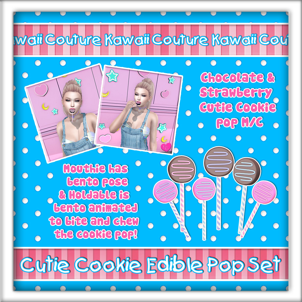 Kawaii Couture – Cutie Cookie Pop Ad