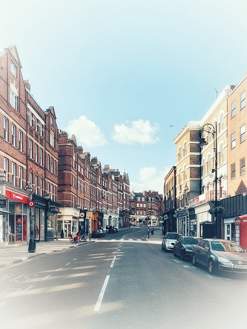 High Key Mornings: Hampstead High Street …