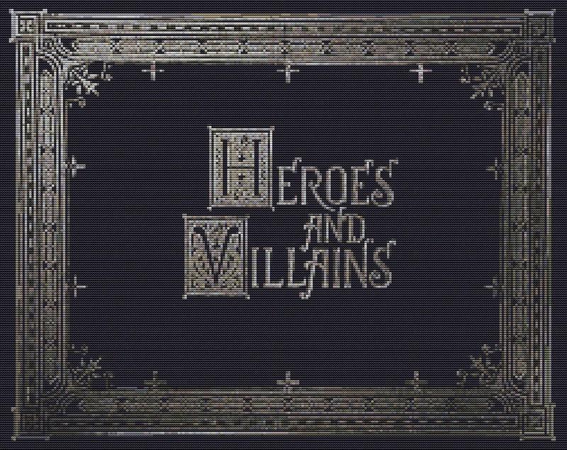 Heroes & Villains Book_000a
