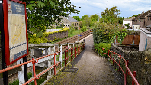 Station Path to Platform 2 at Shepley