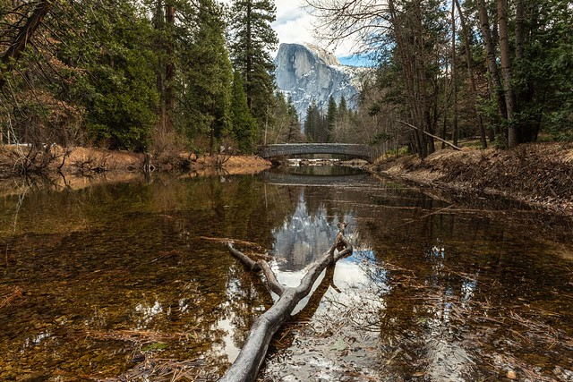 Merced Reflections - Yosemite
