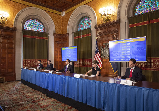 Governor Cuomo Holds Briefing on COVID-19 Response - 4/10