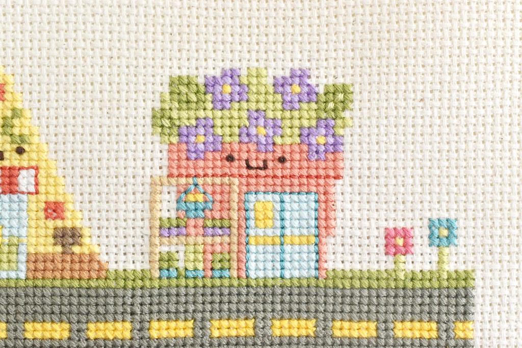Kawaii Crossing Garden Center Cross Stitch
