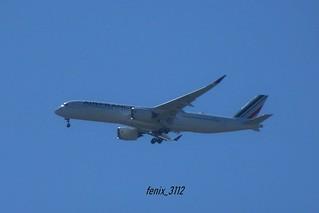 Air France A350-900 (F-WZFX F-HTYE MSN407)